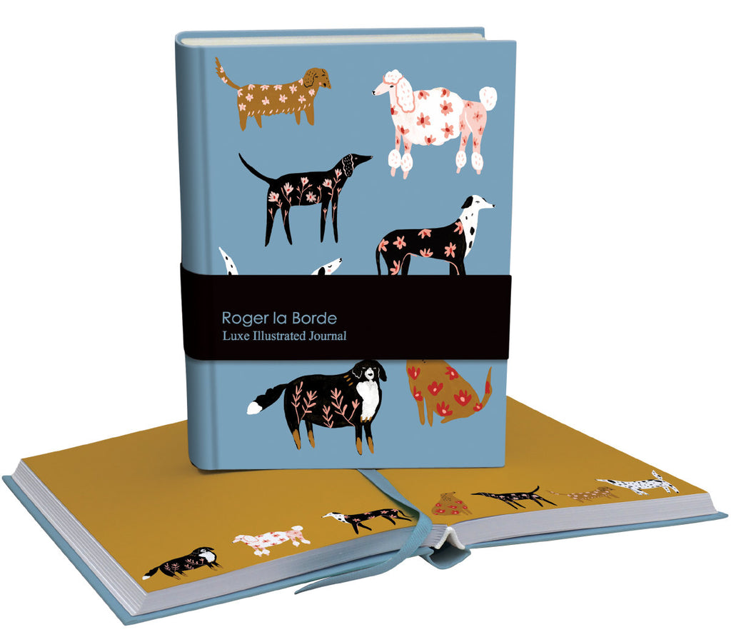 Roger la Borde Cinnamon and Ginger Softback Journal featuring artwork by Holly Jolley