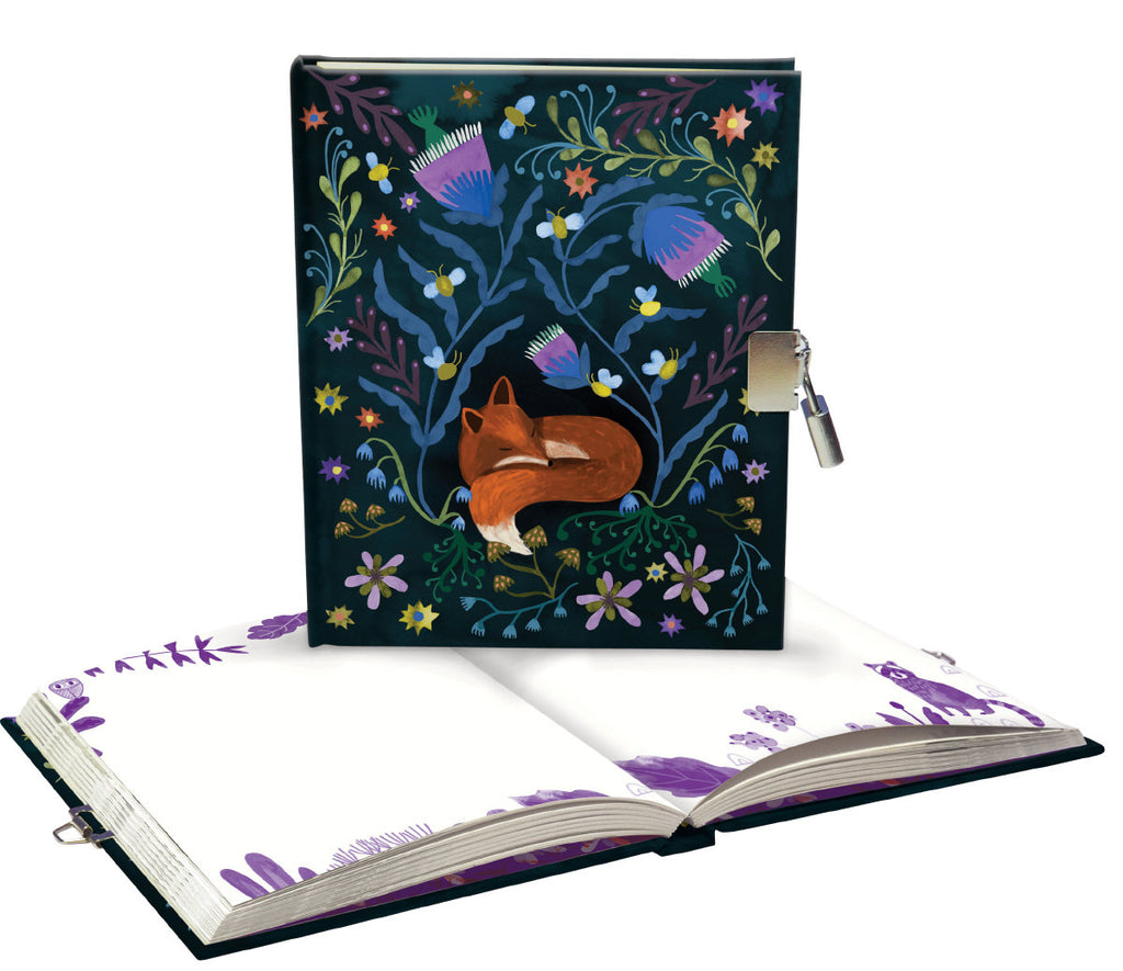 Roger la Borde Lodestar Lockable Notebook featuring artwork by Katie Vernon