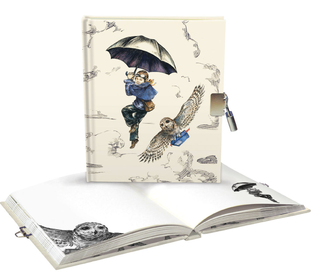 Roger la Borde Mondoodle Lockable Notebook featuring artwork by Elise Hurst