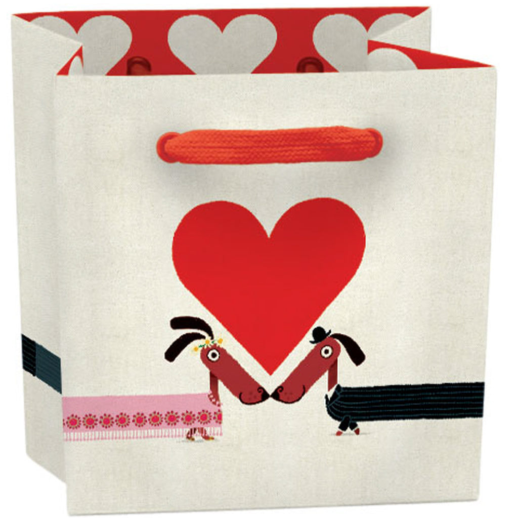 Roger la Borde Odd Dog Out Gift Bag featuring artwork by Rob Biddulph