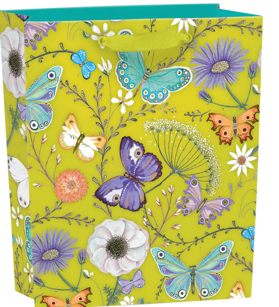 Roger la Borde Butterfly Ball Gift Bag featuring artwork by Jane Ray