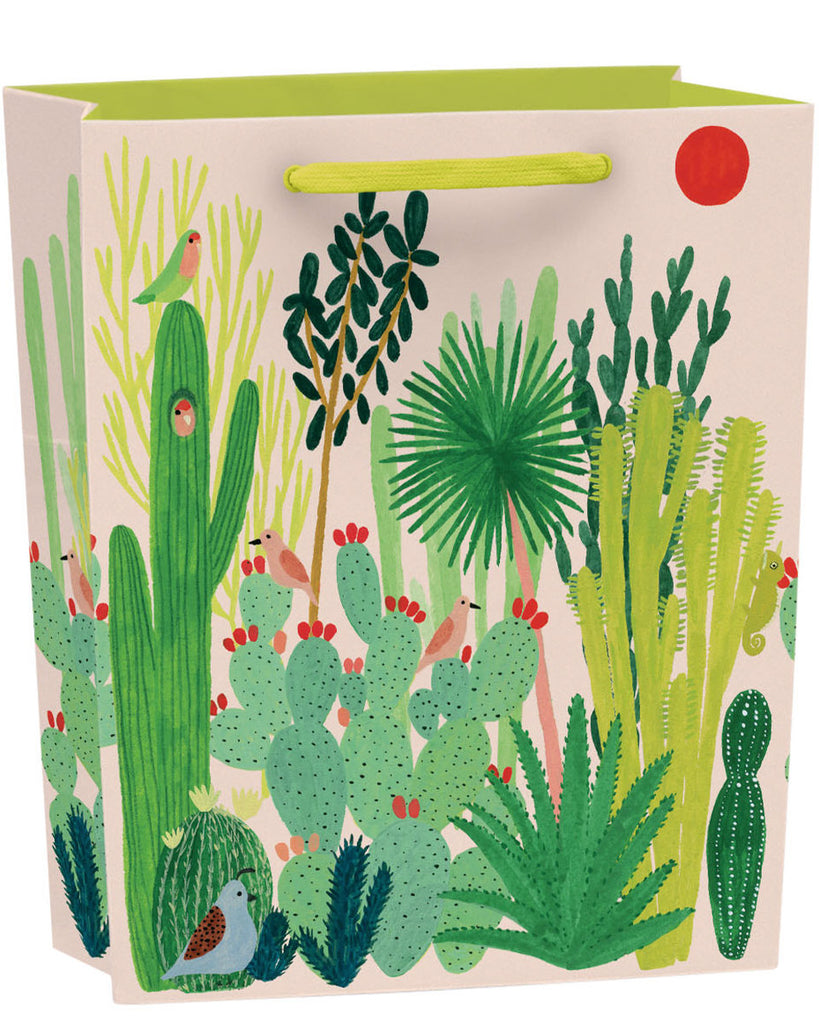 Roger la Borde Joshua Tree Gift Bag featuring artwork by Kate Pugsley