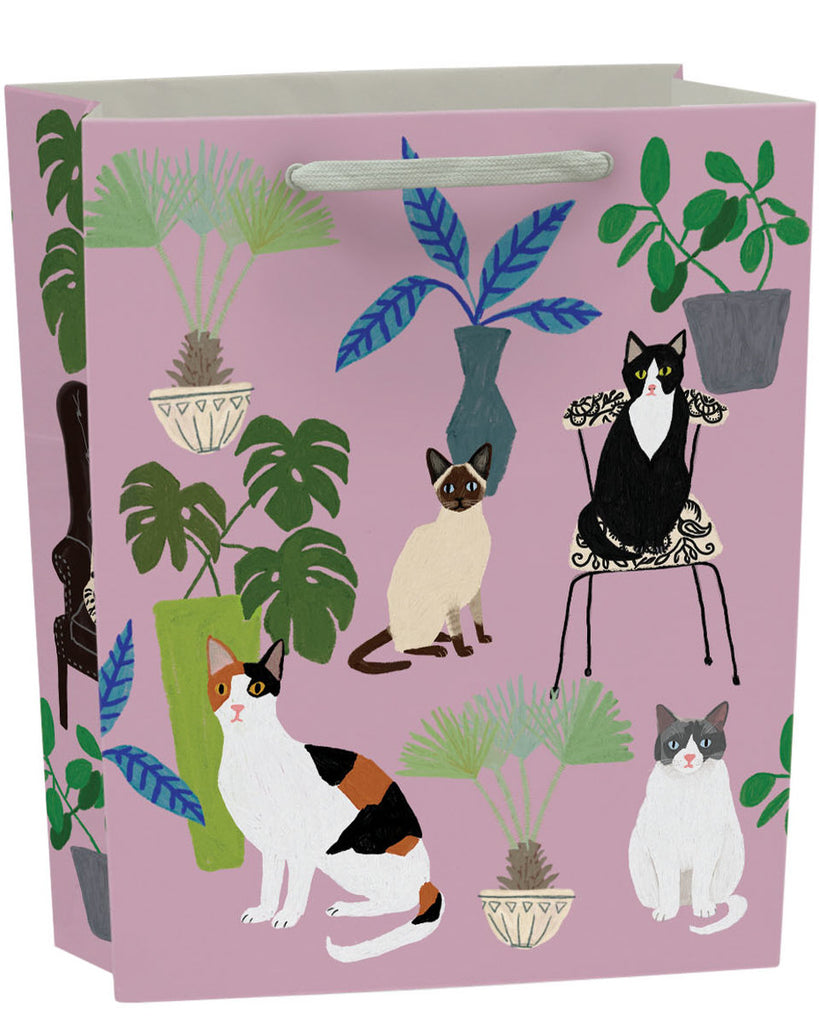 Roger la Borde Cat and Dog Palais Gift Bag featuring artwork by Anne Bentley
