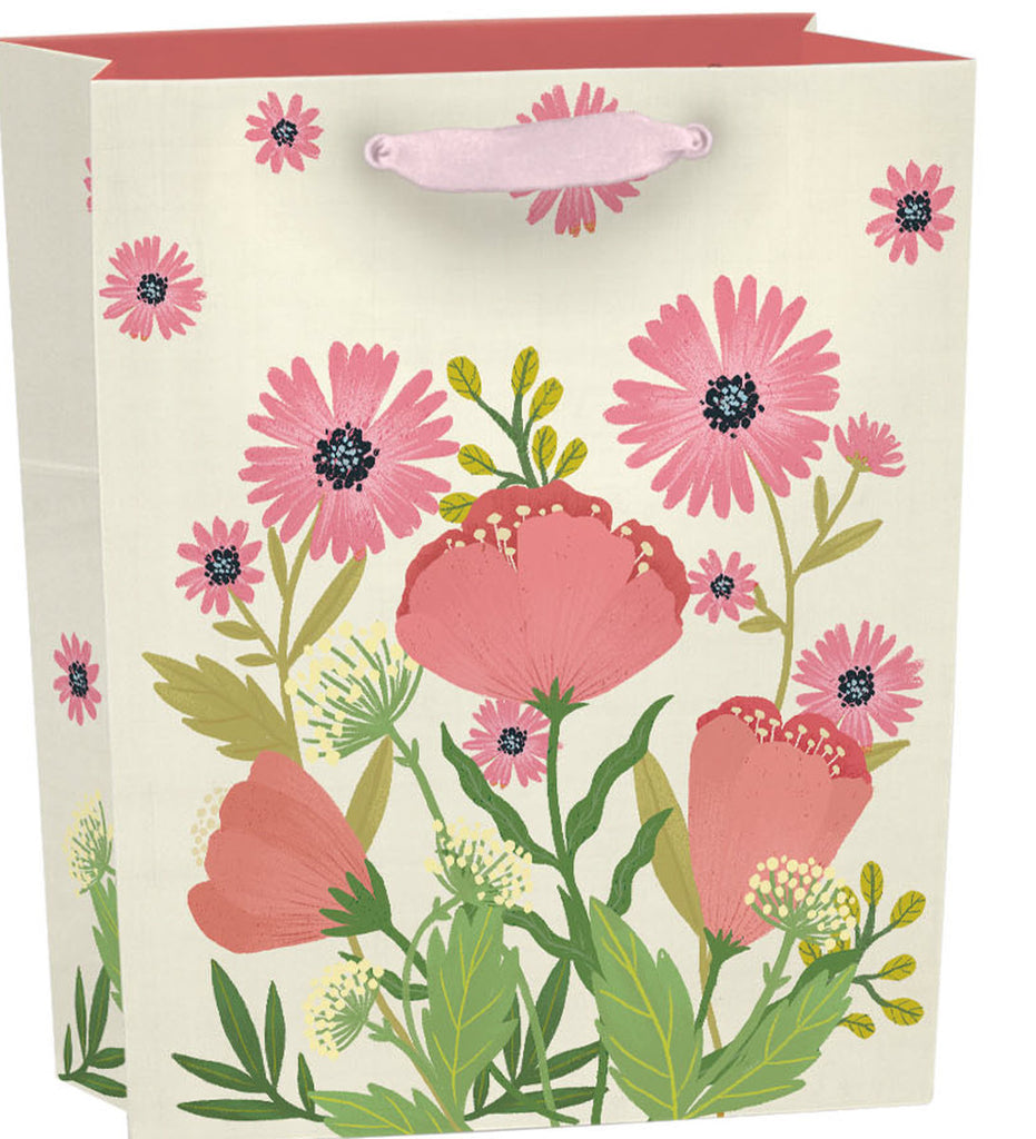 Roger la Borde Poppy go Lucky Gift Bag featuring artwork by Antoana Oreski