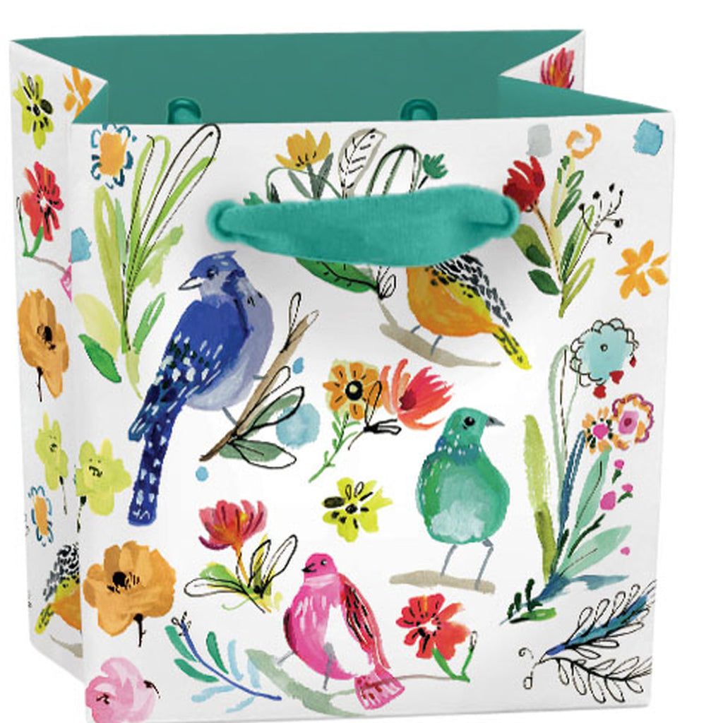 Roger la Borde Wild Batik Gift Bag featuring artwork by Jennifer Orkin Lewis