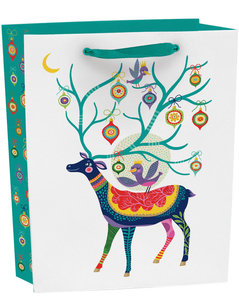 Roger la Borde Enchanting Forest Gift Bag featuring artwork by Helen Dardik