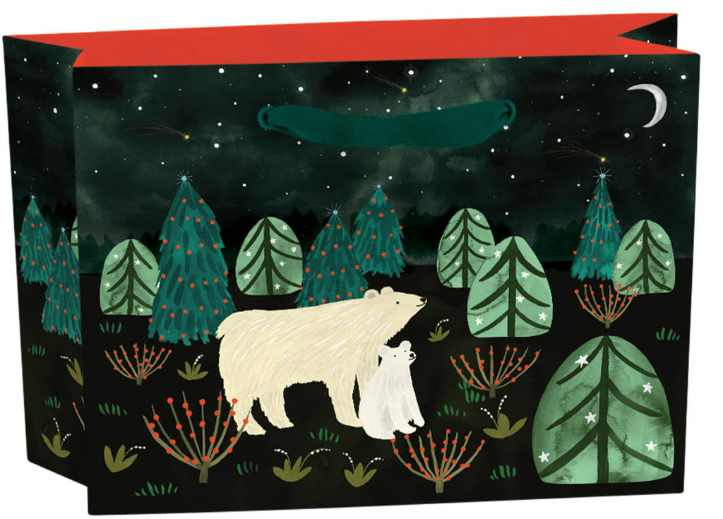 Roger la Borde Northern Lights Gift Bag featuring artwork by Katie Vernon