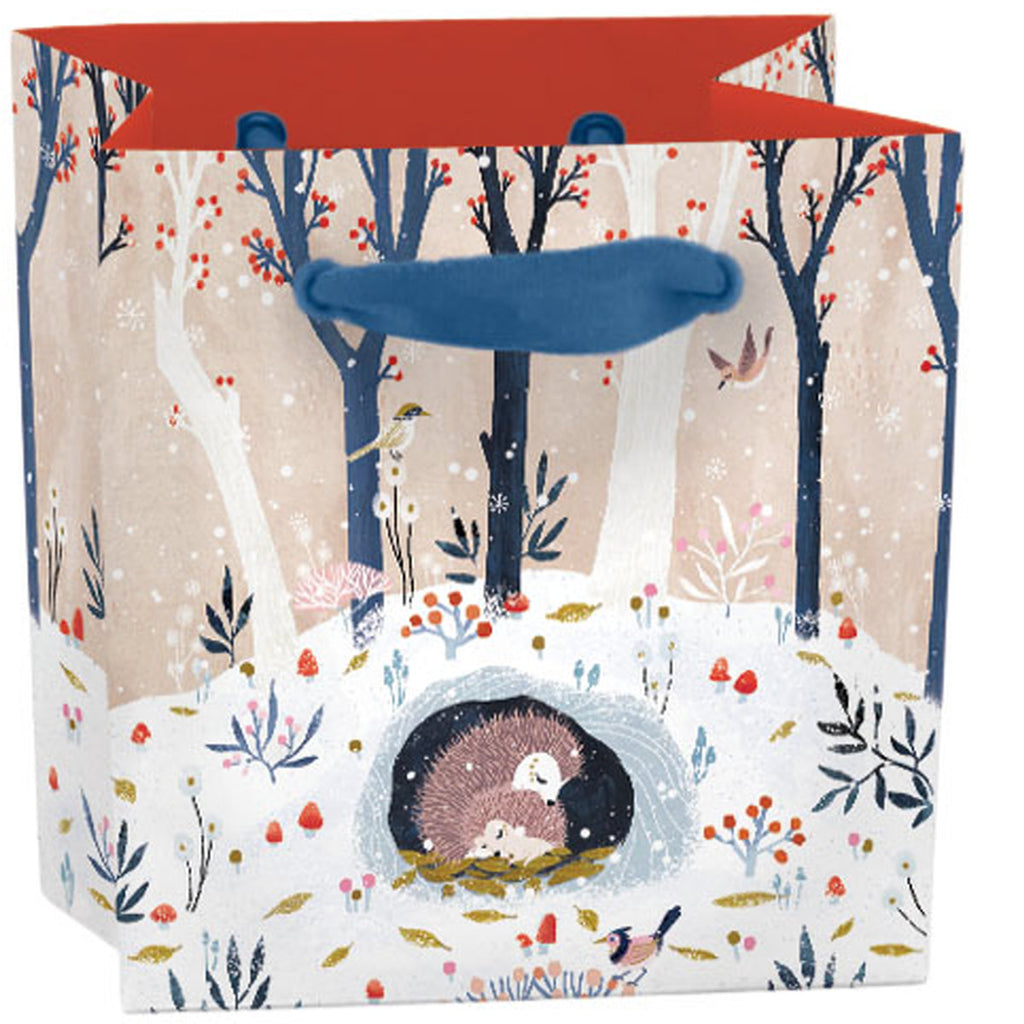 Roger la Borde Winter Garden Gift Bag featuring artwork by Antoana Oreski