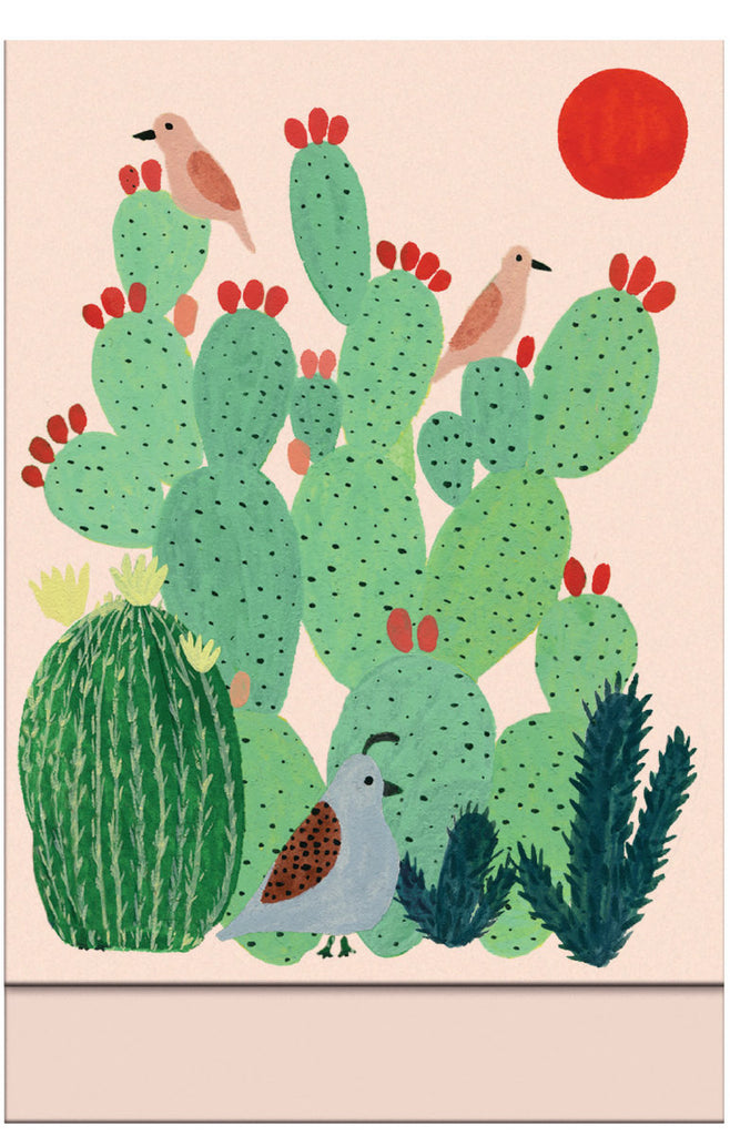 Roger la Borde Joshua Tree Magnet Notepad featuring artwork by Kate Pugsley