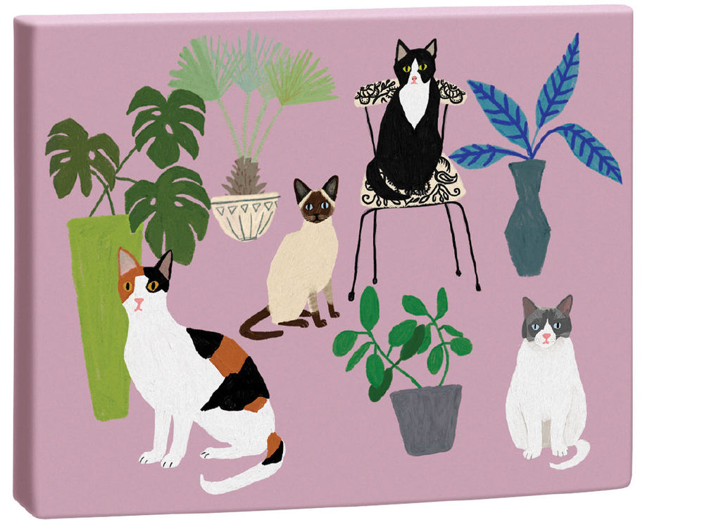 Roger la Borde Cat and Dog Palais Chic Notecard Box featuring artwork by Anne Bentley