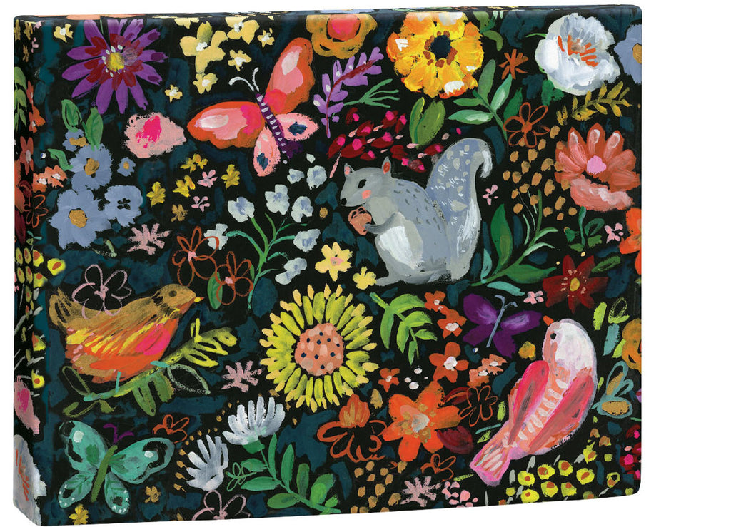Roger la Borde Wild Batik Chic Notecard Box featuring artwork by Jennifer Orkin Lewis