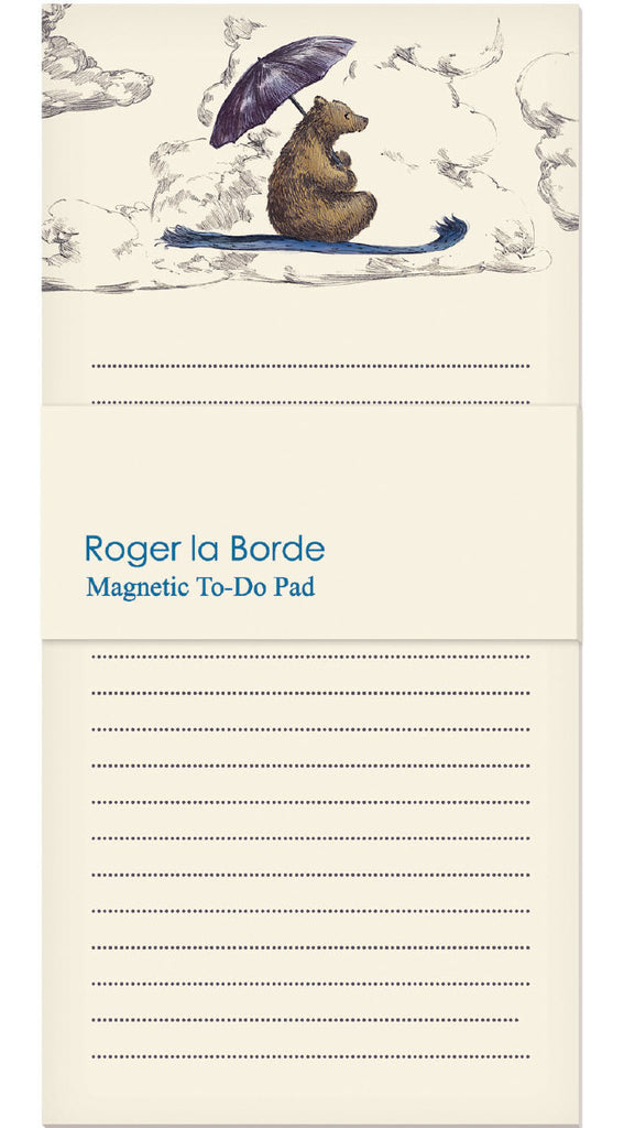 Roger la Borde Mondoodle Magnet Notepad featuring artwork by Elise Hurst