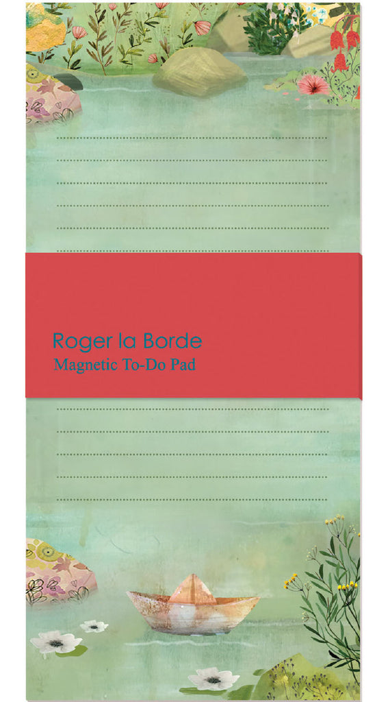 Roger la Borde Dreamland Magnet Notepad featuring artwork by Kendra Binney