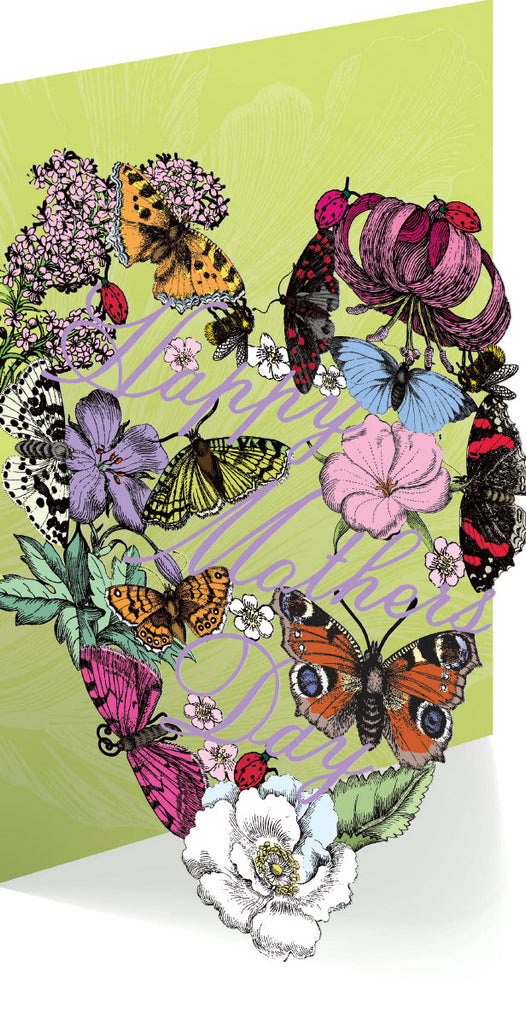 Roger la Borde Mrs Merrion Lasercut Card Sale featuring artwork by Roger la Borde