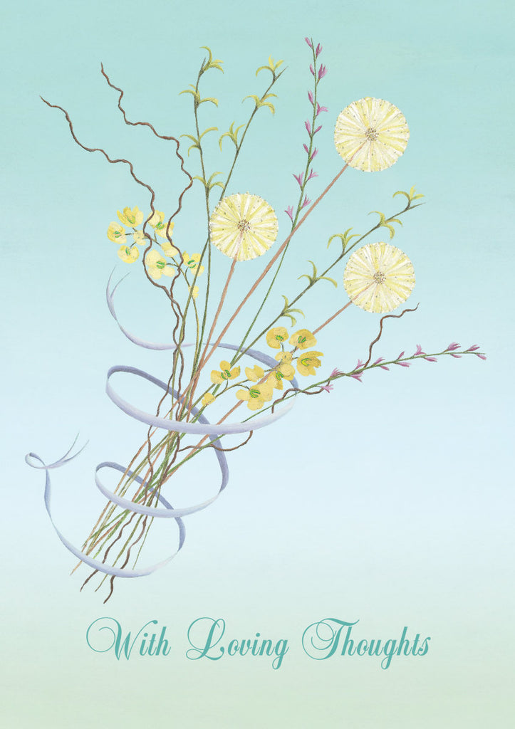 Roger la Borde Flower Fields Greeting Card featuring artwork by Mary Claire Smith