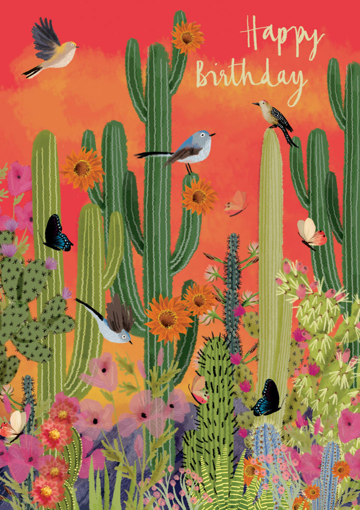 Roger la Borde Summertime Greeting Card featuring artwork by Jane Newland