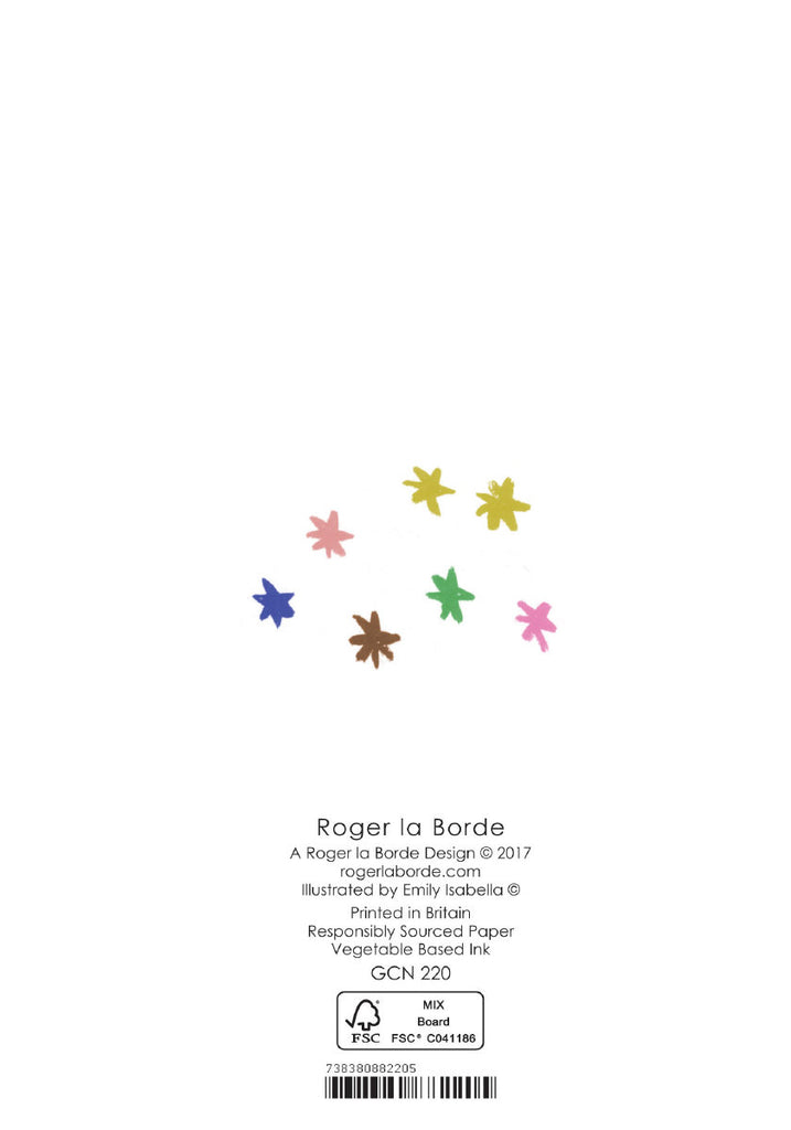 Roger la Borde Little House Petite Card featuring artwork by Emily Isabella