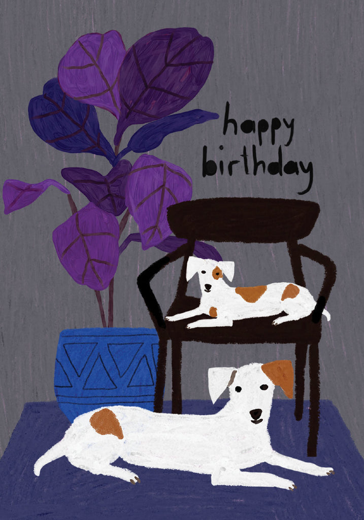 Roger la Borde Glass Menagerie Petite Card featuring artwork by Anne Bentley