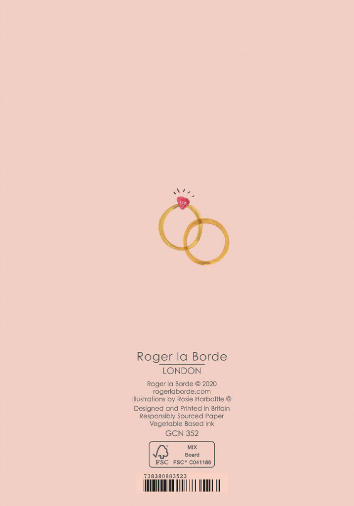 Roger la Borde Over the Rainbow Petite Card featuring artwork by Rosie Harbottle
