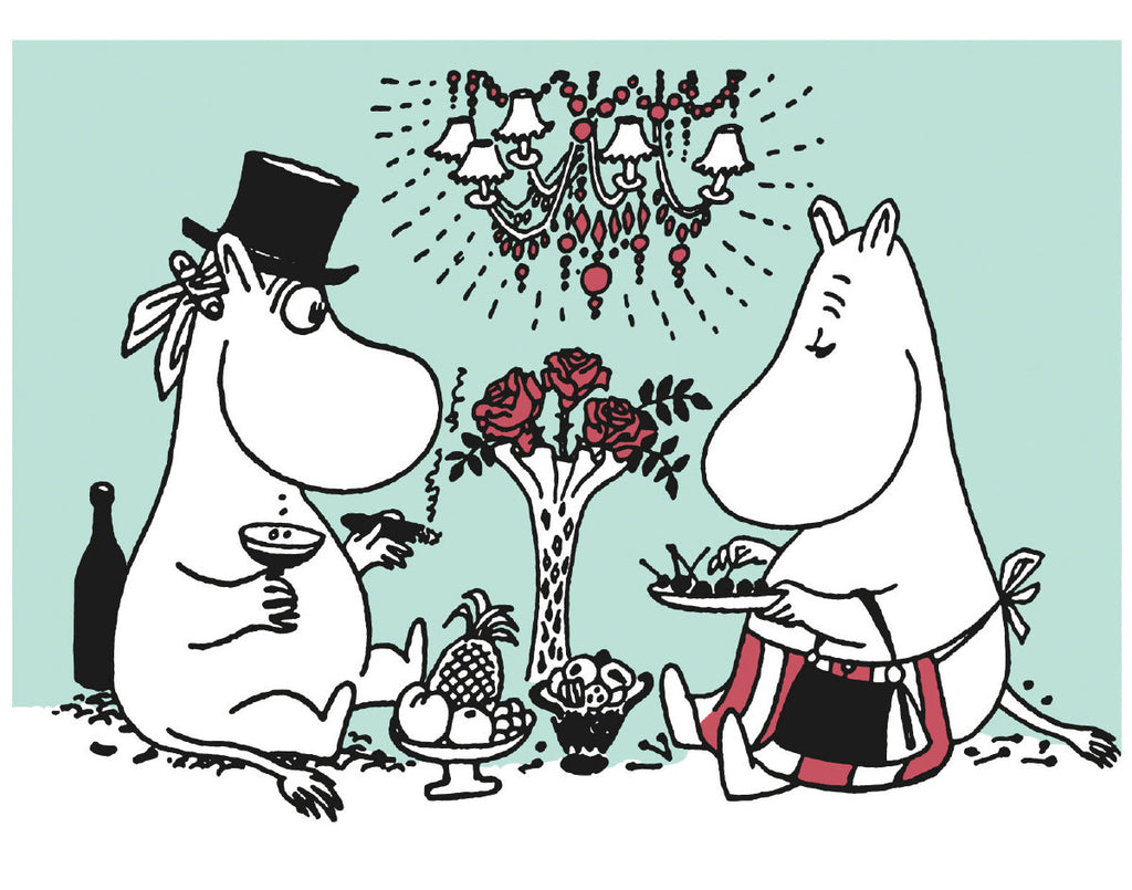 Roger la Borde Moomin Moomin Letterpress Cards featuring artwork by Putinki