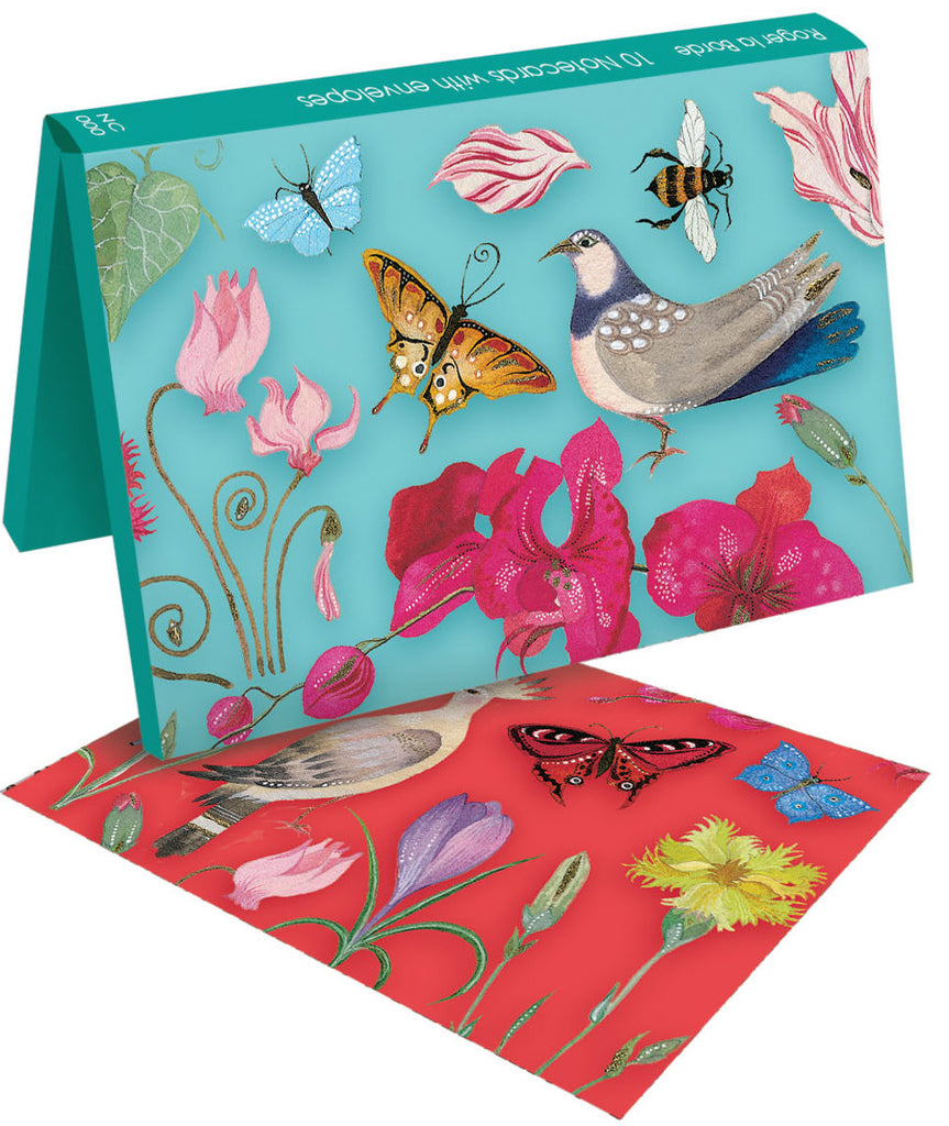 Roger la Borde Abundance Notecard wallet featuring artwork by Jane Ray