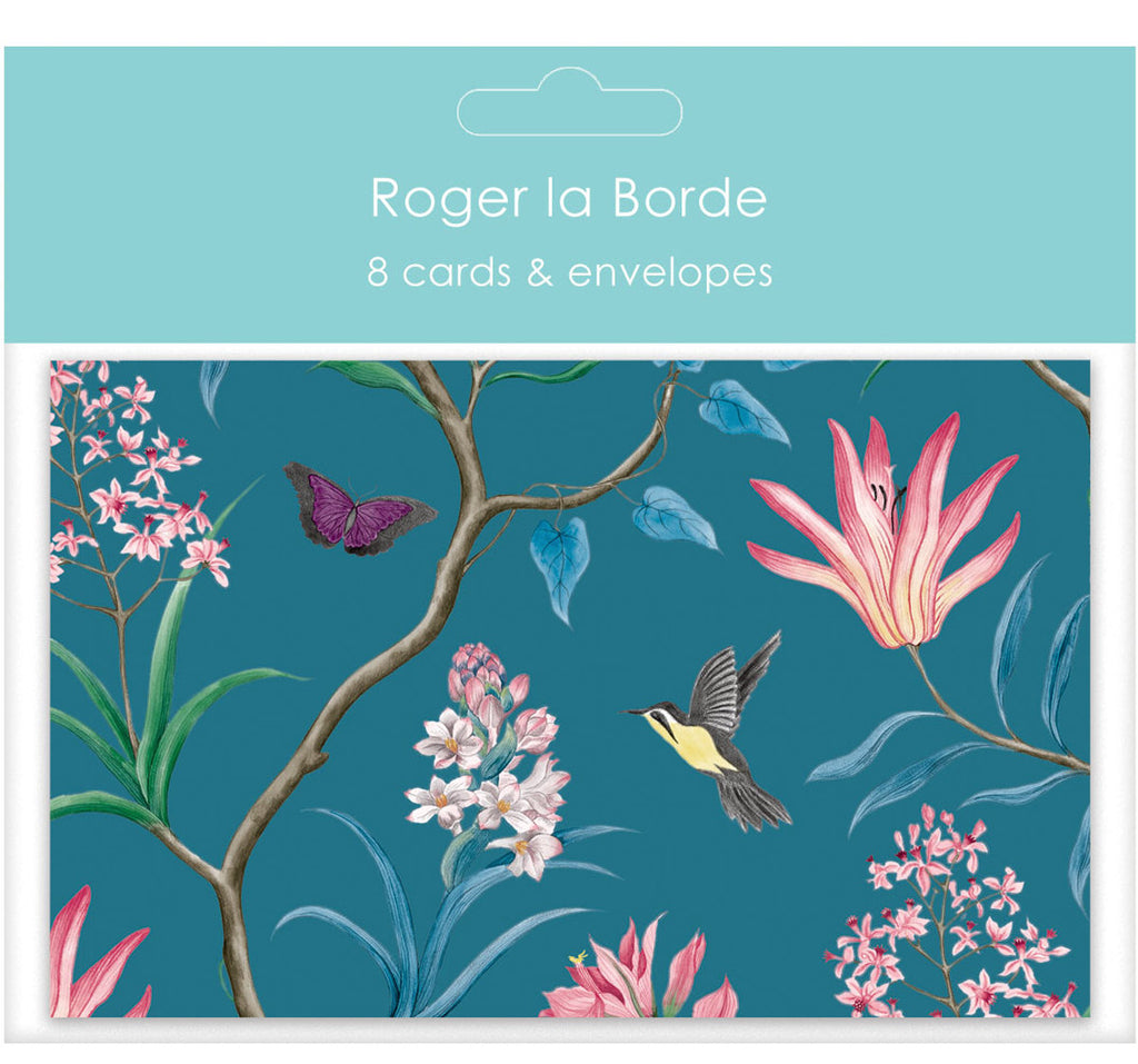 Roger la Borde Sanderson Notecard featuring artwork by Sanderson