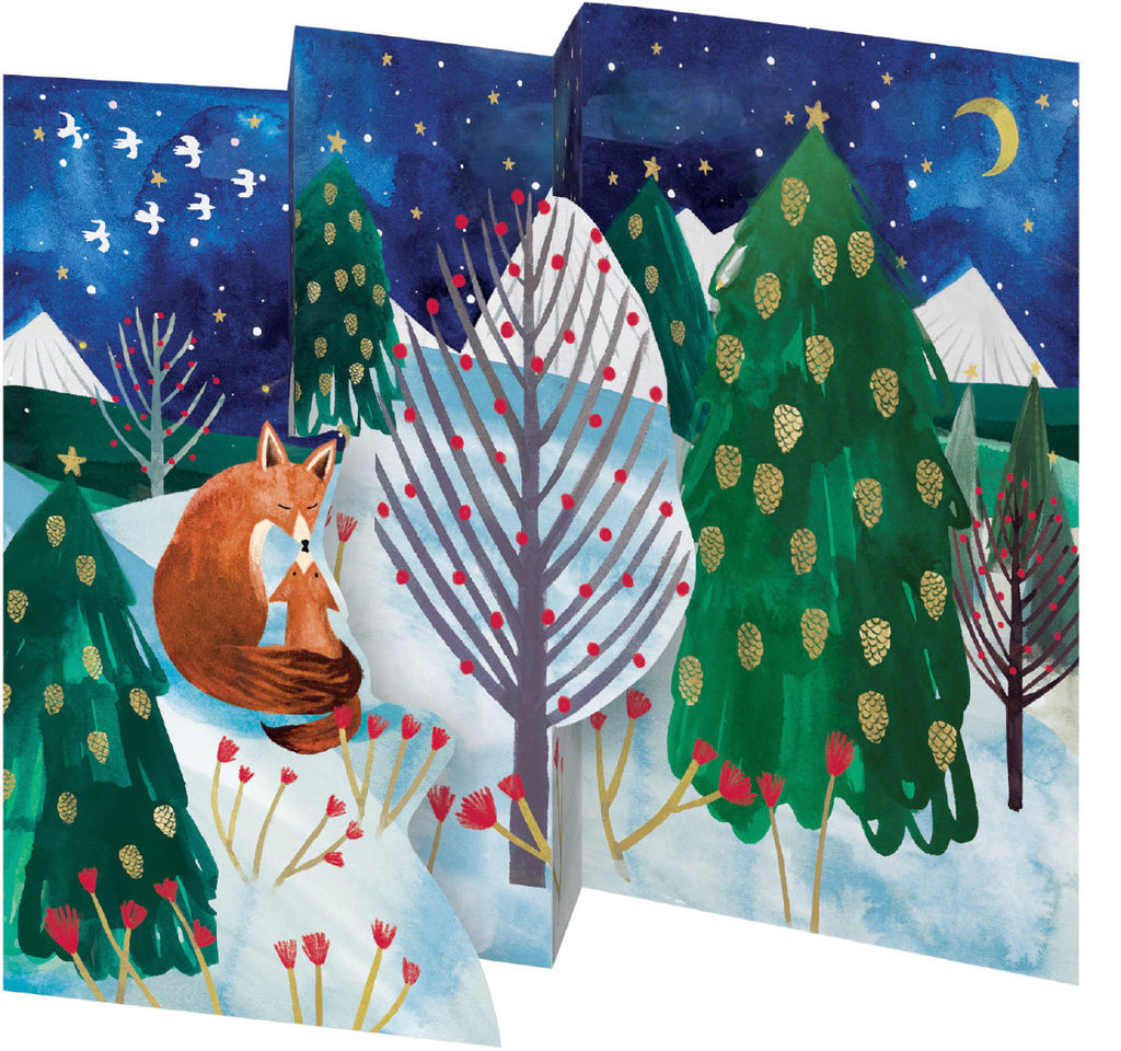 Roger la Borde Lodestar Trifold Notecard featuring artwork by Katie Vernon