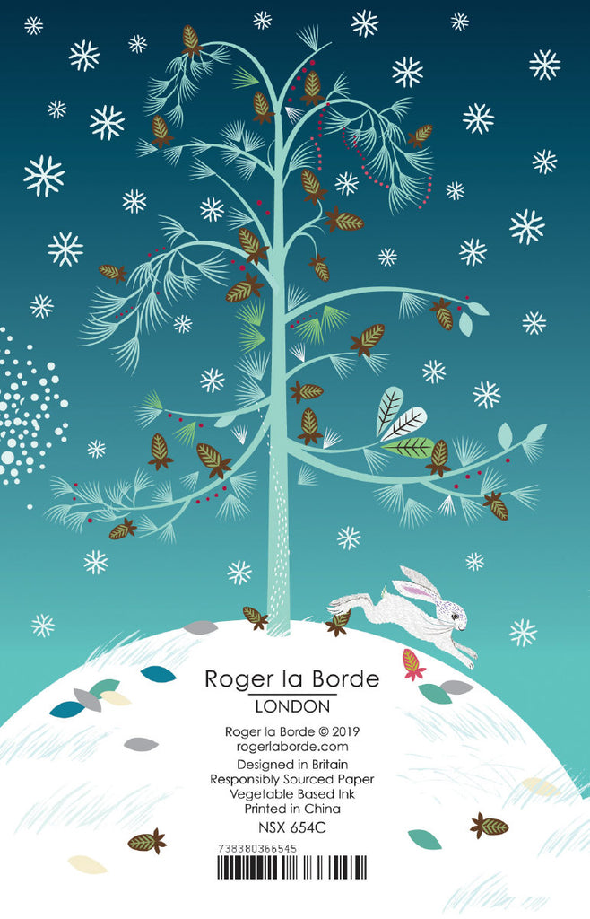 Roger la Borde Critters Charity Notecard featuring artwork by Roger la Borde