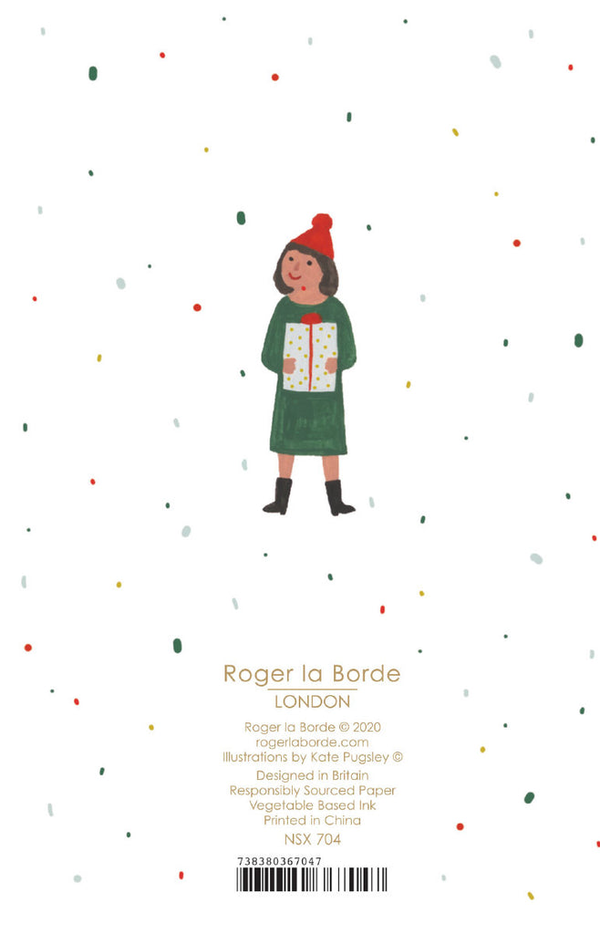 Roger la Borde Chicago School Notecard featuring artwork by Kate Pugsley