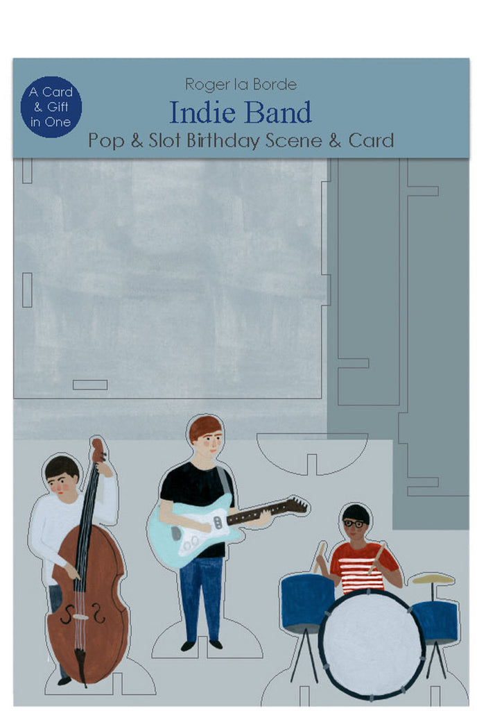 Roger la Borde Chicago School Pop & Slot Card featuring artwork by Kate Pugsley