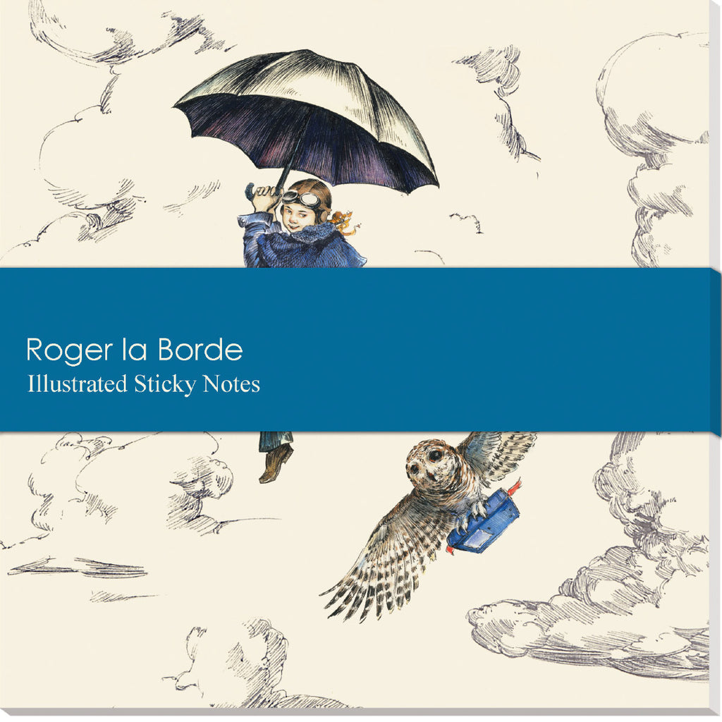 Roger la Borde Mondoodle Sticky Notepad featuring artwork by Elise Hurst