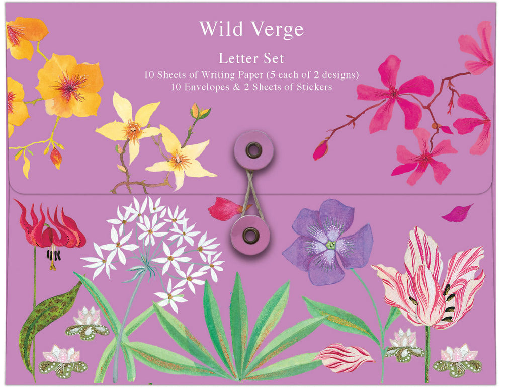 Roger la Borde Abundance Letter Set featuring artwork by Jane Ray