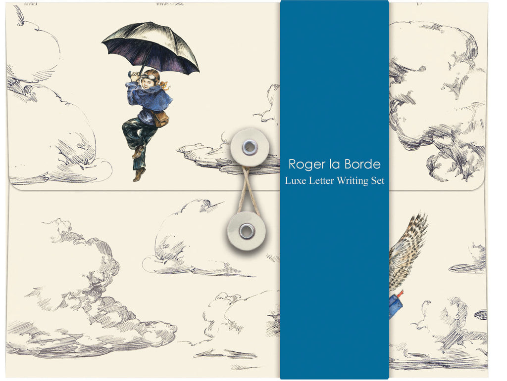 Roger la Borde Mondoodle Writing Paper Set featuring artwork by Elise Hurst