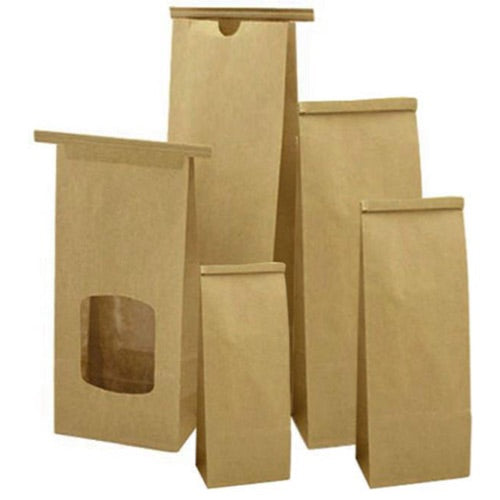 Brown Paper With Window