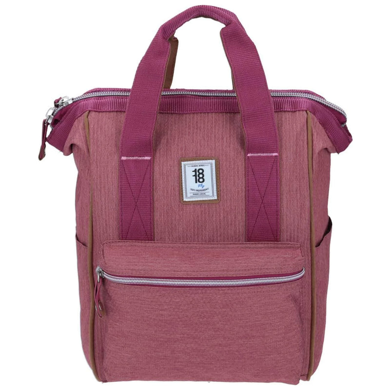 Mochila tote backpack rosa