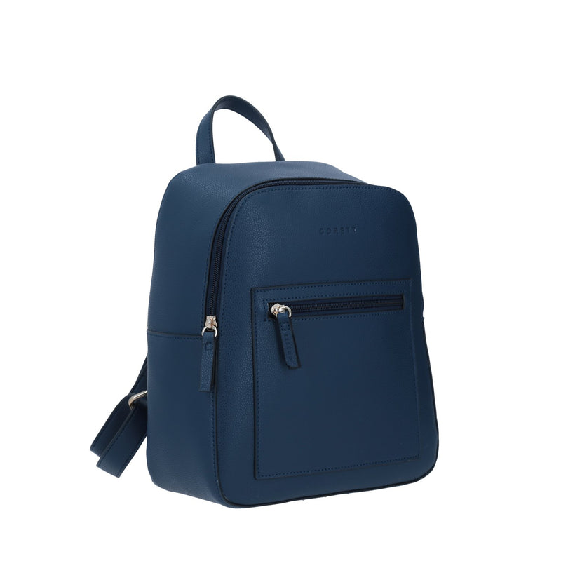Backpack  Gorett Con Cremayera Color Azul