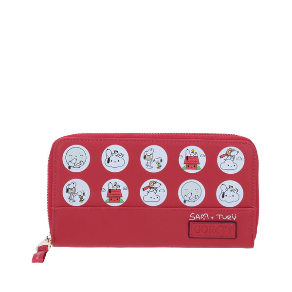 Cartera roja snoopy