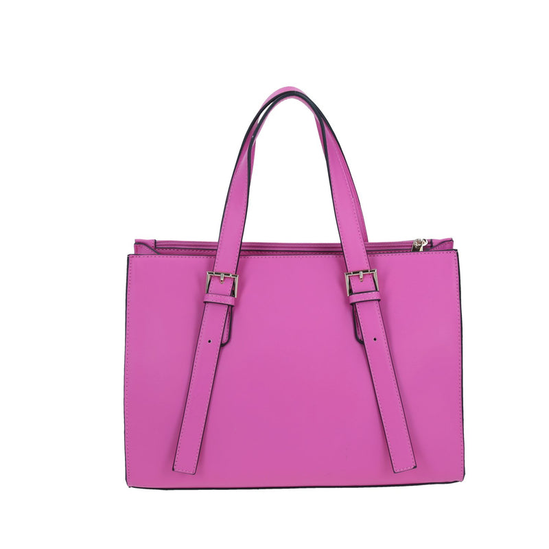 Bolso Tote Barbie Con Relieve Rosa