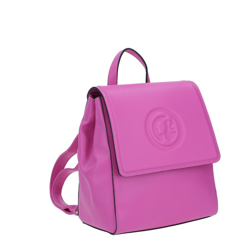 Mochila Barbie Con Relieve Rosa