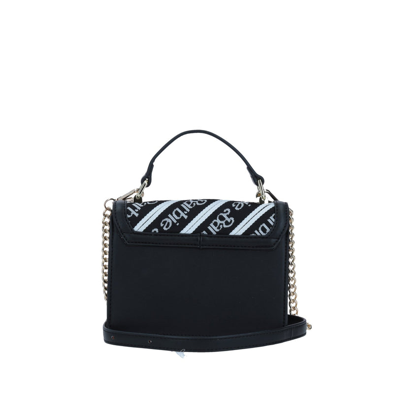 Crossbody Patrón Barbie Negro