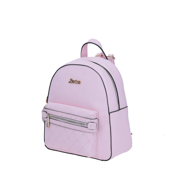 Mini Pink Backpack Barbie GORETT Zipper