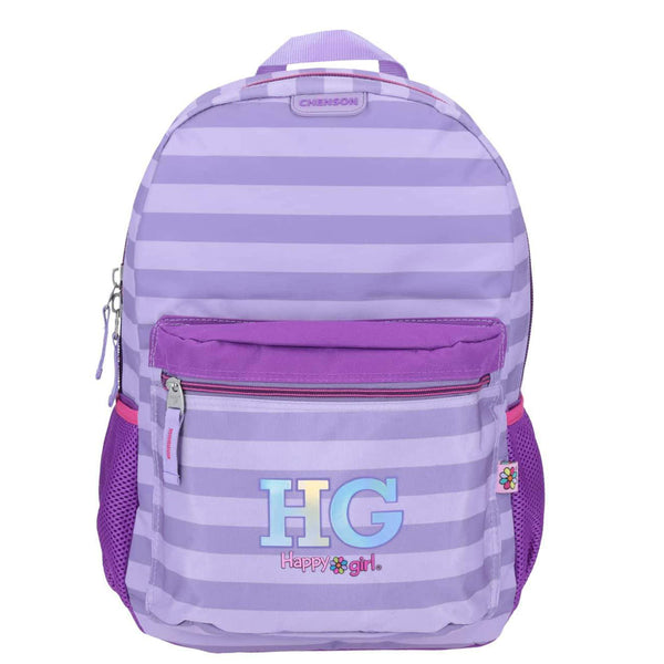 Mochila happy girl morada