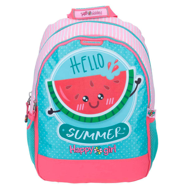 Mochila Happy Girl Sandia