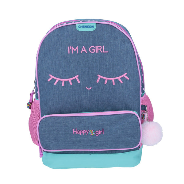 Mochila Grande Happy Girl
