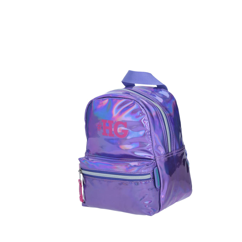 Mini-Backpack Tornasol Morado