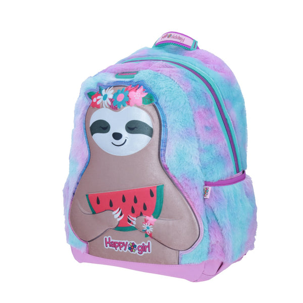 Mochila perezoso peluche happy girl