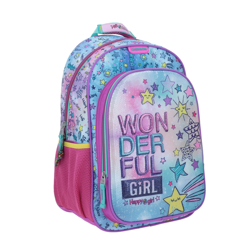 Mochila wonderfull girl hg