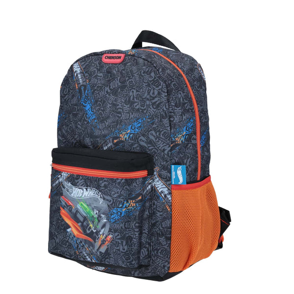 Mochila grande pista hot wheels