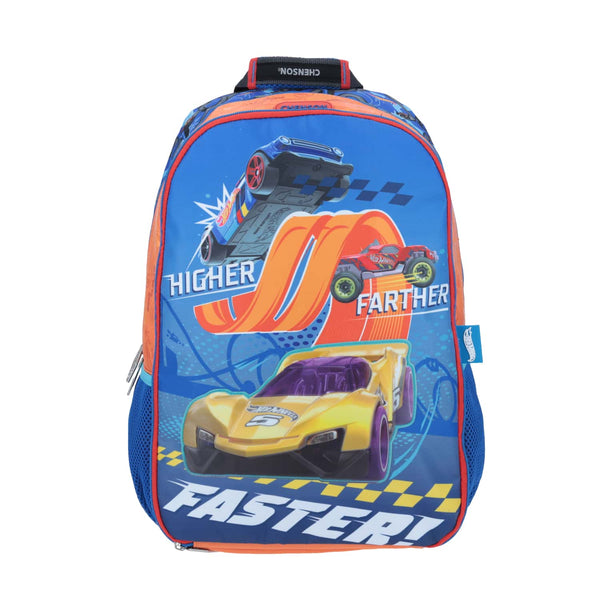 Mochila grande faster hot wheel