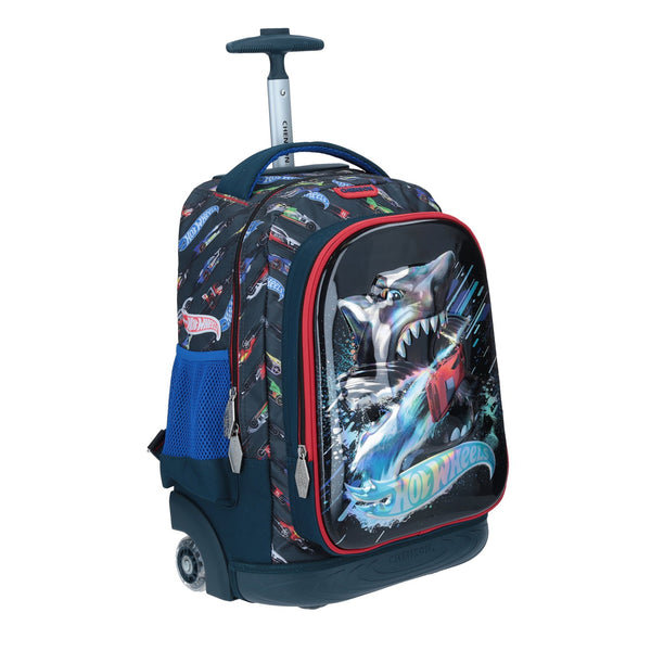 Mochila con ruedas grande shark Hot Wheels